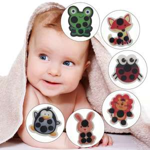 Forehead Temperature-Sticker Measurement Change Lcd-Color Baby Children