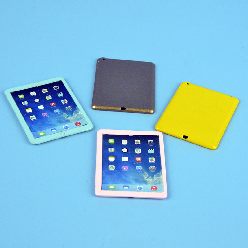 Wholesale 1:12 Dollhouse Miniature Mini Ipad 1:6 Furniture Toy Match For New Collectible Gift 2018