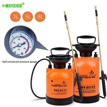 Hot Sale Garden Pressure Sprayer Irrigation Flower Plant Comes With Pressure Gauge Watering Can Pesticide Fertilizer Spray Tool