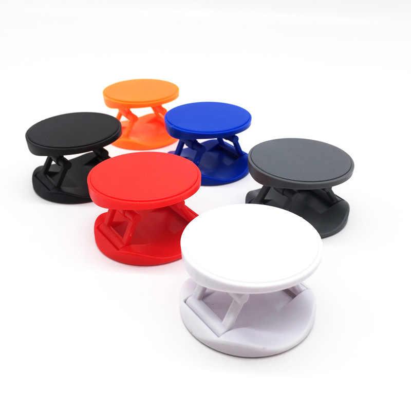 Soporte plegable de lujo para teléfonos inteligentes y Tablets soporte Universal para teléfono con conector de anilla