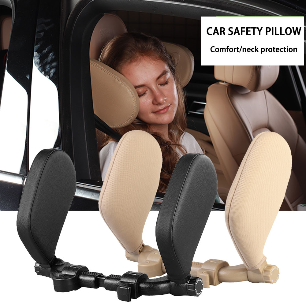 Car Seat Headrest Pillow Travel Rest sleeping headrest Support Solution car accessories interior u shaped pillow car For Kids