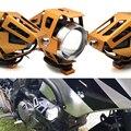 Pour Kawasaki KX450F KX100 kx 85 125 250 250f 450f moto lumière led phare lampe auxiliaire U5 projecteur moto lumière