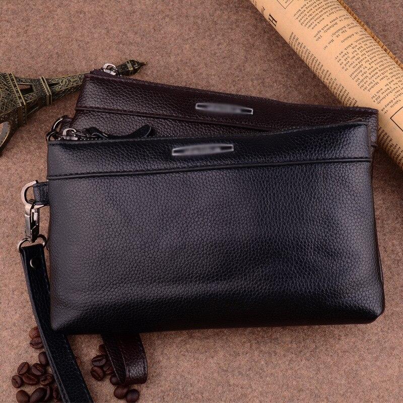 Повседневные Длинные мужские сумочки, кошелек на молнии, мульти-кошелек, вместительный мужской клатч с кармашком для сотового телефона и пр...