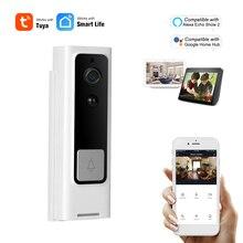 WiFi akıllı güvenlik kapı zili HD 1080P kablosuz görsel interkom kayıt görüntülü kapı telefonu PIR hareket dedektörü yağmur geçirmez