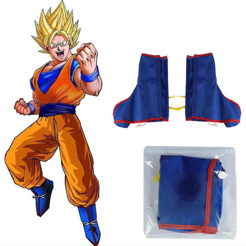 K571 Dragon Ball Z Anime Japan Cosplay Goku Gohan Costume Party Shoe Boot Covers