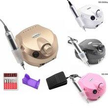 цена на 35000RPM Pro Nail Drill Manicure Machine Apparatus for Manicure Pedicure Electric File Cutter Nail Drill Art Polisher Tool Bit