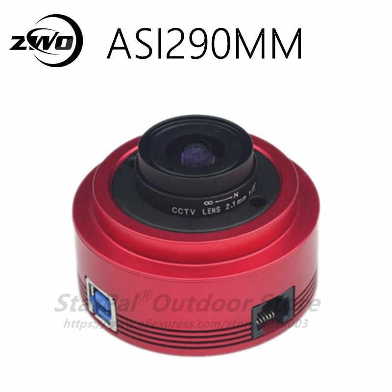 Монохромная астрономическая камера ZWO ASI290 мм ASI, Планетарная Солнечная Лунная видеосъемка/Руководство по высокоскоростному USB 290, ASI290 мм, ASI мм, ASI290