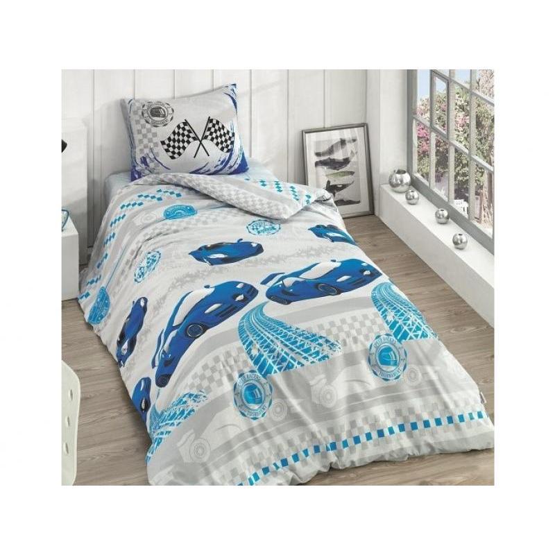 Bedding Set полутораспальный KARNA, RANFORCE, RACER ranforce bedroom set cotton box ranforce bedroom set