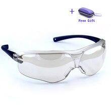 10434 בטיחות משקפיים משקפי אנטי רוח חול ערפל הלם אבק עמיד שקוף משקפיים עין מגן גברים אופנה