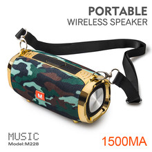 B04 ao ar livre bluetooth alto-falante m228 portátil música alto-falante sem fio à prova de poeira rádio estéreo suporte fm tfcard