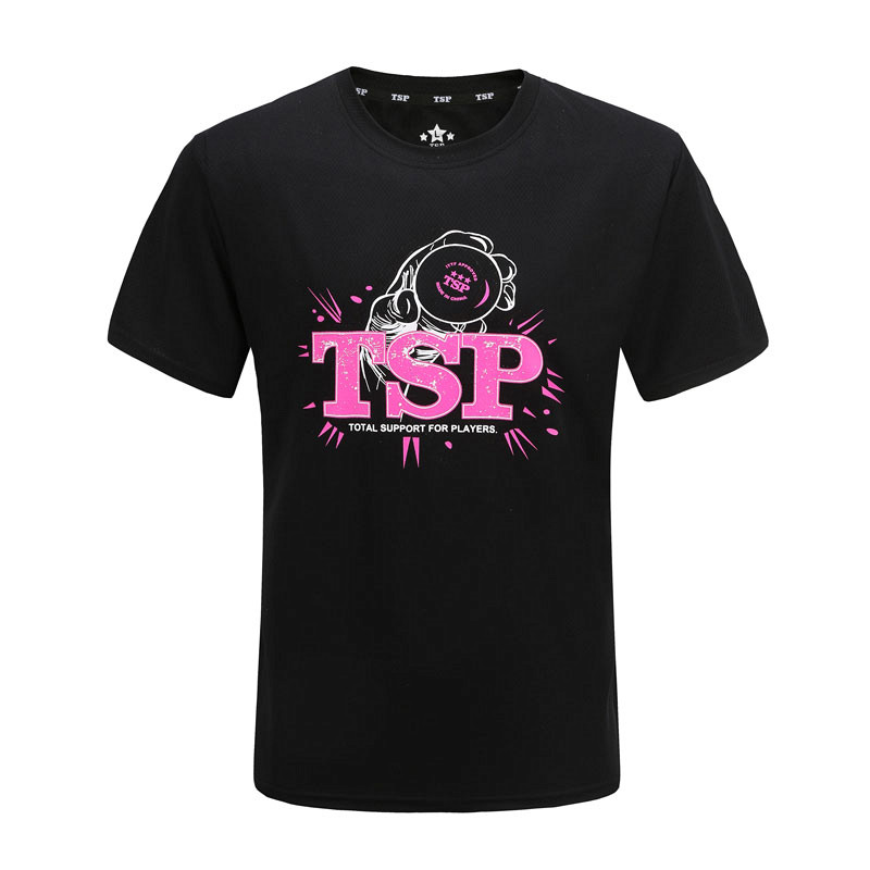 T-Shirts TSP Table-Tennis Ping-Pong-Cloth Jerseys for Men/women Sportswear Training 83505 title=