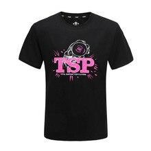TSP 83505 Table Tennis Jerseys T-shirts for Men / Women Ping Pong Cloth Sportswear Training T-Shirts