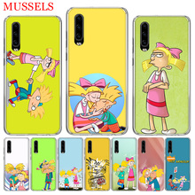 hey arnold fondos Cover Phone Case for Huawei P30 P20 Mate 20 10 Pro P10 Lite P Smart + Plus 2019 Coque Shell Capa