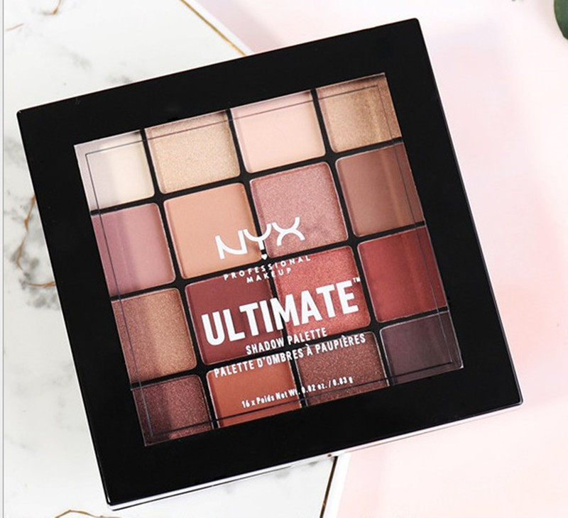Make Up 6 8 16 Colors NYX ULTIMATE SHADOW PALETTE 3D Eye Shadow PALETTE Makeup Paleta De Sombra Maquiagem Profissional Completa