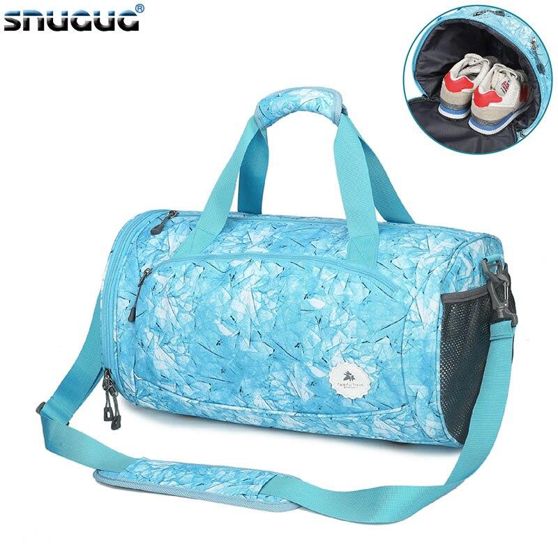 Outdoor Fitness Bag Fashion Gym Tas Sac A Dos Sport Gym Bag Shoe Compartment Training Bag Dry And Wet Women Sports Bags For Men