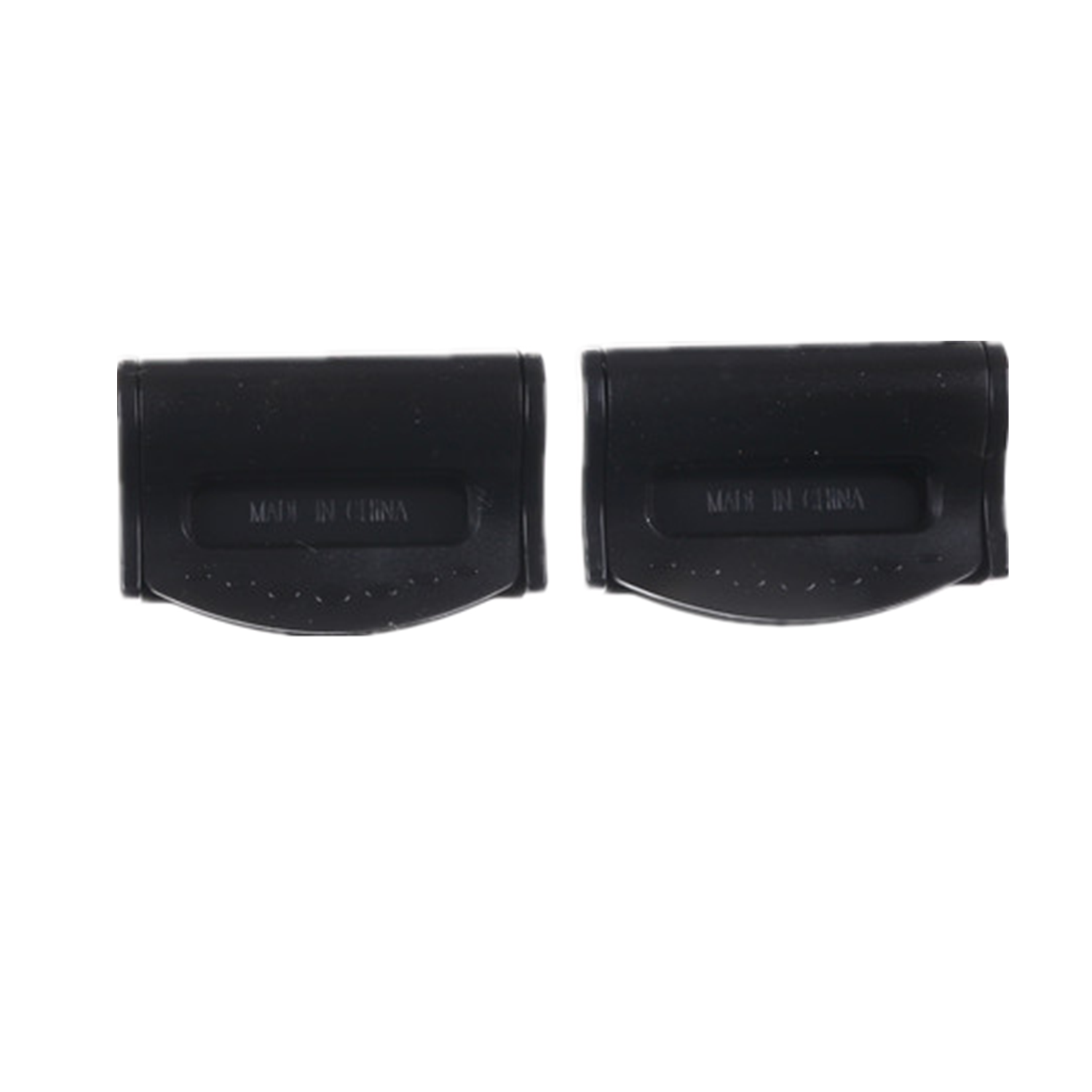 2Pcs Retainer Clip Seat Belt Stopper Buckle For Vehicle Holder Durable Plastic Car Universal