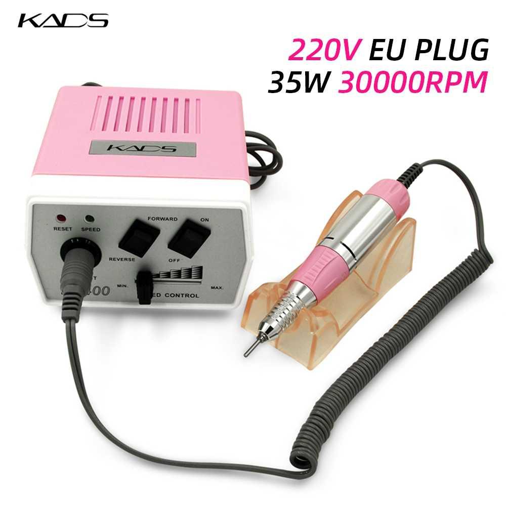 35W Electric Kuku Bor Mesin Manikur Pedikur File Electric Kuku Bor Bit Manikur Kuku Seni Alat Kuku Aksesoris