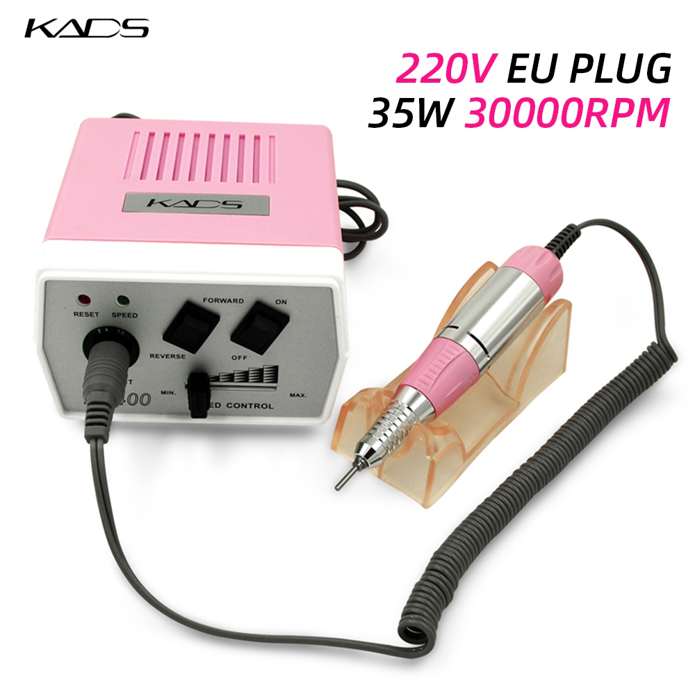 35W Electric Nail Drill Machine Manicure Pedicure Files electric Nail Drill Bits Manicure Nail Art tools nails accessories-in Electric Manicure Drills from Beauty & Health    1