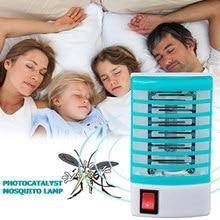 220V maison pratique LED prise électrique moustique répulsif mouche insecte tueur piège nuit lampe Zapper rongeur répulsif ue Plug