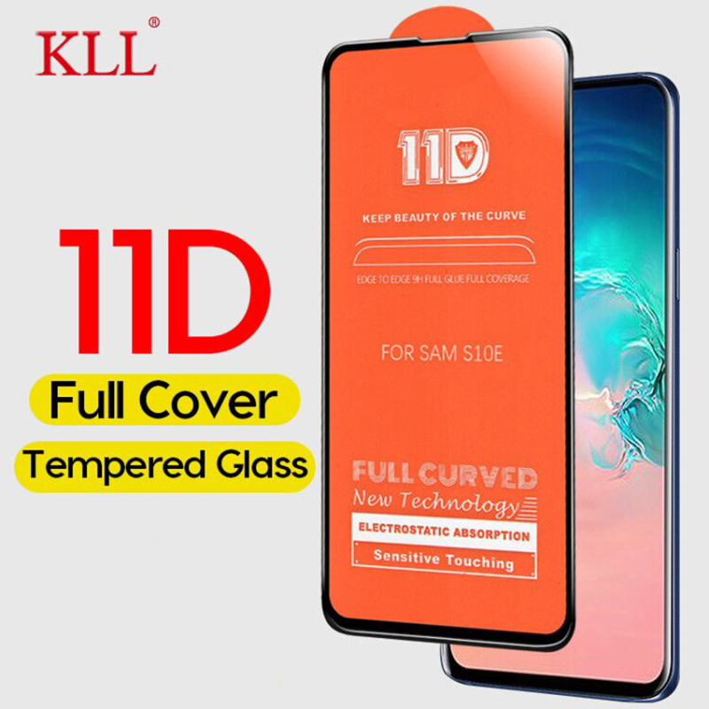 11D Curved Tempered <font><b>Glass</b></font> for <font><b>Samsung</b></font> Galaxy S10E M30 M20 M10 <font><b>A50</b></font> A30 A20 Screen Protector for <font><b>Samsung</b></font> A9 A8 A7 A6 J4 Plus J6 image