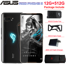 "Global ROM ASUS ROG Phone 2 mobile phone 12G 512G 6.59"" Snapdragon 855+ 48MP R"