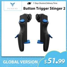 Flydigi gatilho 2 botão de jogo móvel cod auxiliar artefato de seis dedos ios android pubg alta velocidade atirar arma de pressão automática