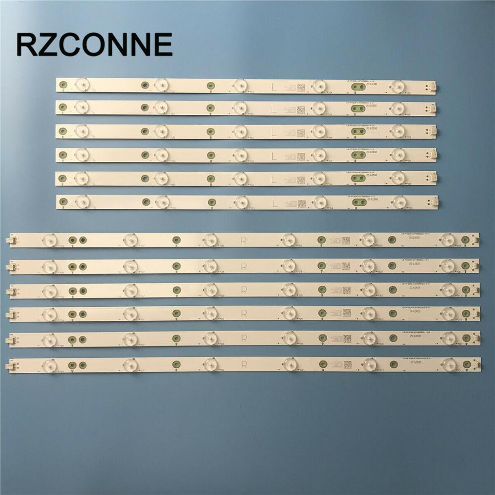 LED Strip For AOC 50'' YX-50018014 LB50039 LB50045 TPT500J1-LE8 LC-50LB261U 500TT26 500TT25 50PFL6340/T3 500TT56 TPT500DK-QS1