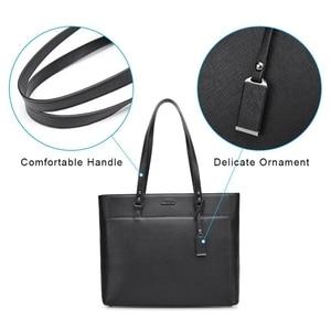 Image 3 - ABDB OSOCE Briefcase 15.6 Inch Laptop Bag Waterproof Handbag Protective Bag Laptop Tote Case Shoulder Bag Office Bags for Women