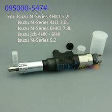 Inyector diésel ERIKC de inyección 5472 095000-5472 (8-98151837-0) inyector de combustible Common Rail 0950005472 para Denso Isuzu