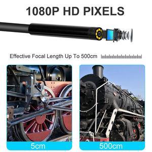 Image 5 - كاميرا المنظار اللاسلكية واي فاي Borescope التفتيش 5.5 مللي متر 2.0MP HD التفتيش مقاوم للماء ثعبان كاميرا أندرويد و iOS اللوحي