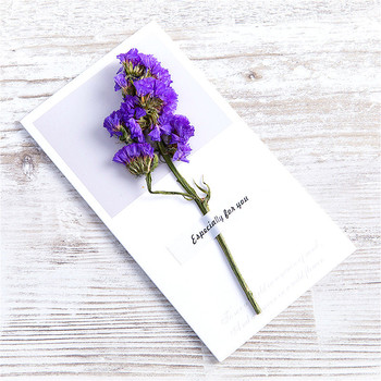 1pcs Natural Dried Flowers Paper Envelopes Craft European Style Envelope For Card Mail Shipping Supplies Scrapbooking Gift 1