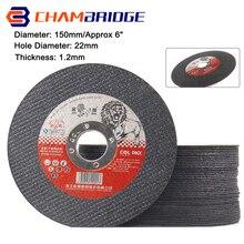 150mm  Cutting Disc Metal Cut Off Wheel Angle Grinder Disc Slice Fiber Reinforced Grinding Blade Cutter for Metal Iron 2-25Pcs
