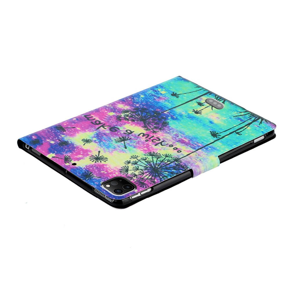 PU inch Pro Case For Leather Pro 11 Smart for Case iPad Cheap Painted iPad 2020 Folio