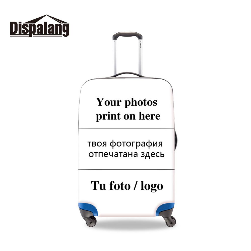 Dispalang Thick Luggage Protective Cover Custom Image Case For Suitcase Elastic Travel Accessoires For 18-32 Inch S M L XL Cover
