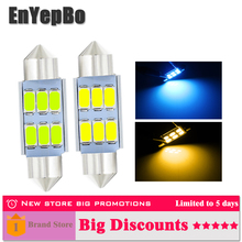 цена на 2PCS C5W LED Festoon car light 31MM 36mm 39mm 41mm Car Dome Light 5730 SMD Error Free Interior Reading Lamp Licence Plate Bulb