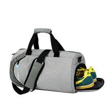 Bolsas deportivas impermeables para hombre y mujer, bolsa de gimnasio grande con compartimento para zapatos, bolsa de mano para ejercicios de yoga, viajes al aire libre, 2019