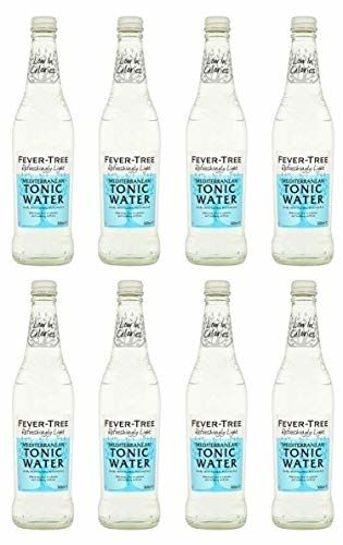 Fever Tree Refreshingly Light Mediterranean Tonic Water 500 Ml (Pack Of 8)