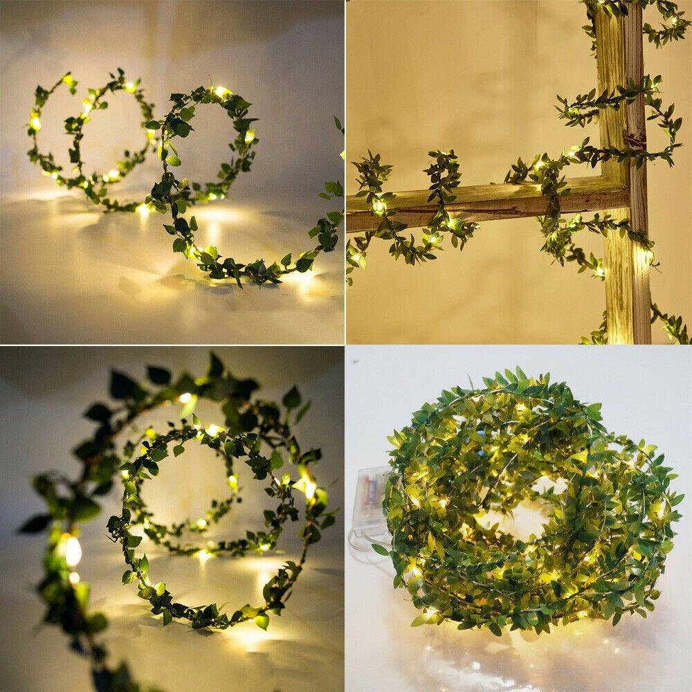 2019 Fashion Brand New Hot Flower Vine String Light Fairy Wedding Party Christmas Garland Decor Lights