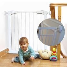 4 упаковки безсверлильные монтажные защитные ворота для стенок бампера охранники Детские Дверные ворота ПЭТ двери лестницы стены защита чашки колодки протектор