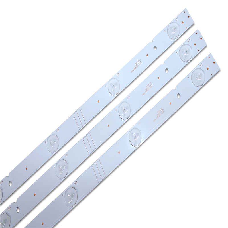 New 12 PCS/set LED Backlight Strip 5800-W32001-3P00 05-20024A-04A For LC320DXJ-SFA2 32HX4003 7LED 607mm