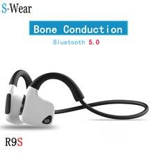 Fábrica de Vender! Original fones de ouvido Bluetooth Fones de Ouvido de Condução Óssea 5.0 Esportes Sem Fio fones de ouvido fones de Ouvido Handsfree