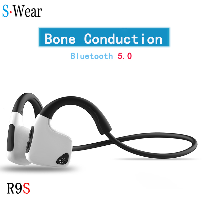 Factory Sell  Original headphones Bluetooth 5 0 Bone Conduction Headsets Wireless Sports earphones Handsfree Headsets