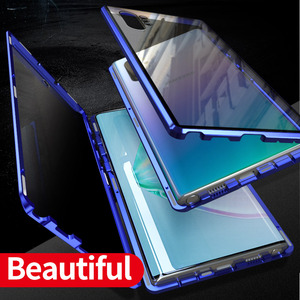 Image 5 - Case For Huawei Honor 20 Cover honor 20 Pro Nova 5T Anti Spy 9H Full Privacy Tempered Glass Screen Protector Metal Magnet case