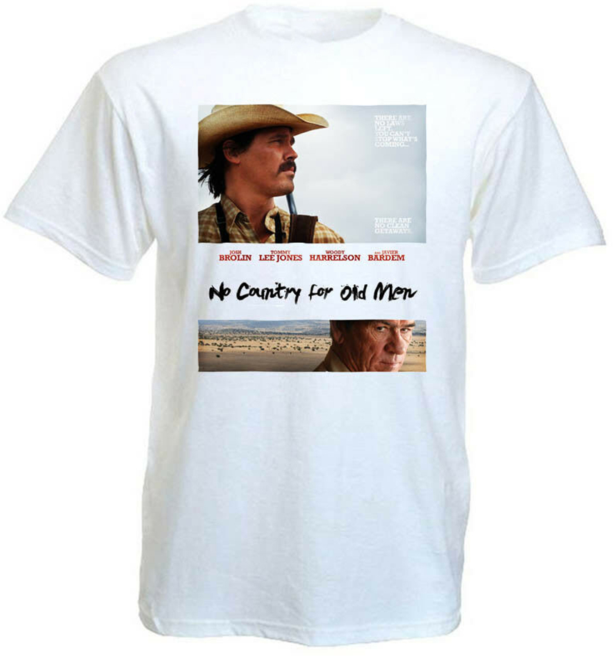 No Country For Old Men V2 T Shirt Movie Poster Coen Brothers All Sizes S-5Xl Wholesaletee Shirt image