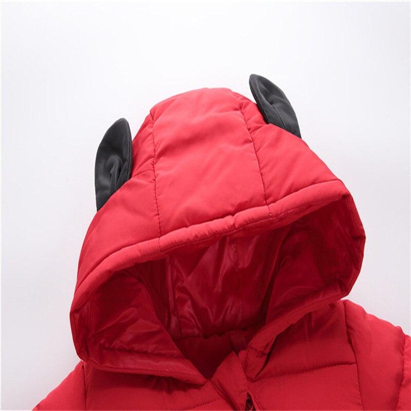 Baby jumpsuit down jacket Newborn Baby Boy Girl Cartoon Winter Warm Thick Jumpsuit Hooded Coat Outwear #4AA22 (14)