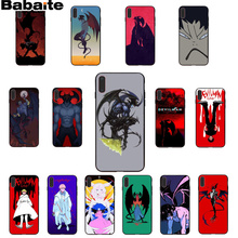 Babaite Devilman Crybaby TPU Soft Silicone Phone Case Cover for Apple iPhone 8 7 6 6S Plus X XS MAX 5 5S SE XR Cover babaite van gogh tardis tpu soft silicone phone case cover for apple iphone 8 7 6 6s plus x xs max 5 5s se xr mobile cover