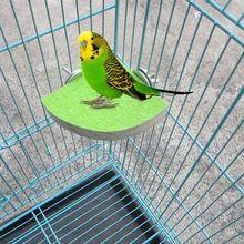 Деревянная платформа хомяк; Попугай Коготь шлифовальный окунь Стенд Пакет попугай клетка игрушки N1HA
