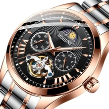 Mechanical Watches Skeleton Automatic-Watch Waterproof Sports Men's Luminous Fashion