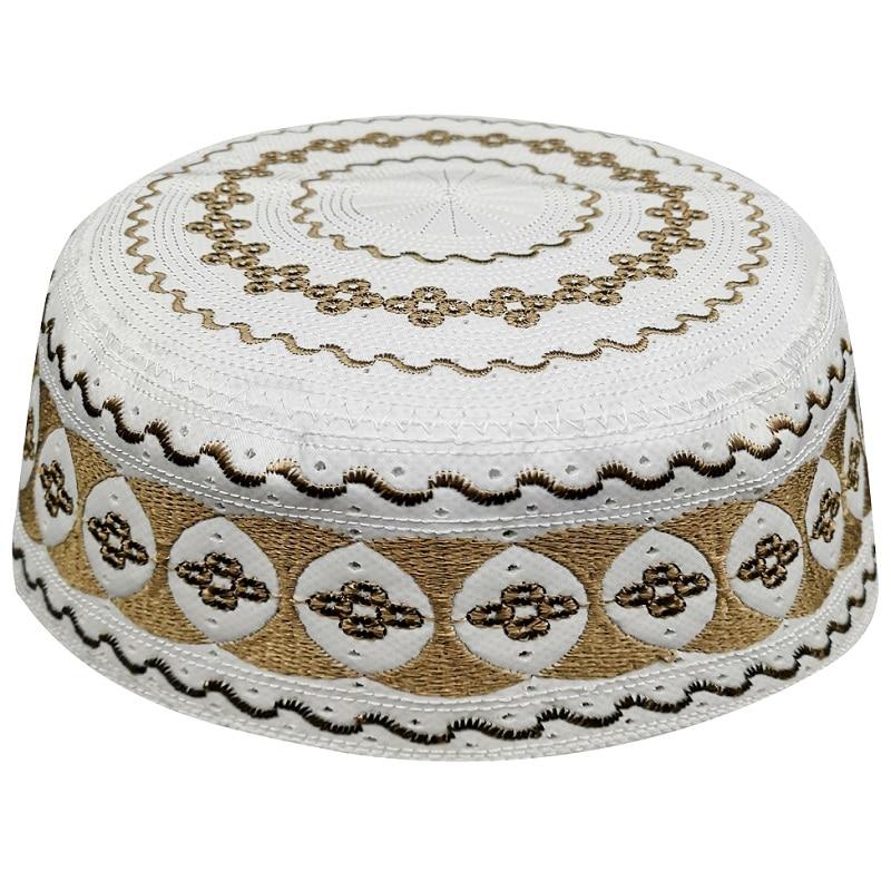 Купить men gray papaqlar namaz caps arab kappa hats muslim prayer islamic