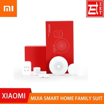 Xiaomi Mijia Smart Home Family suit Kit Gateway Window Door Sensors Body Sensor Wireless Switch Zigbee Mi 5 in 1 Security Kit